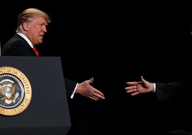 US media reported that the Trump administration was looking to 'drive a wedge' between Russia and Iran in its effort to improve relations with Moscow while confronting Tehran.