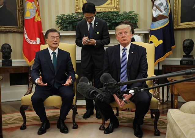Donald Trump và Moon Jae-in