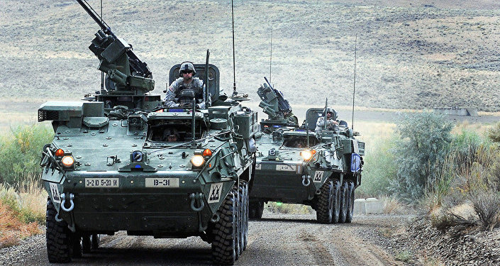 US  Strykers