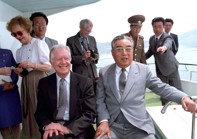 Jimmy Carter và Kim Il Sung