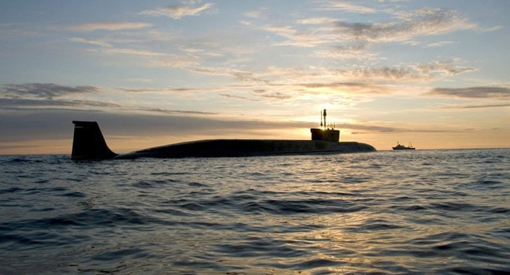 Borey-Class Strategic Submarine Yuri Dolgoruky